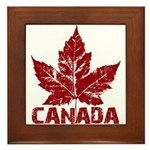 Cool Canada Framed Tile