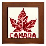 Cool Canada Framed Tile