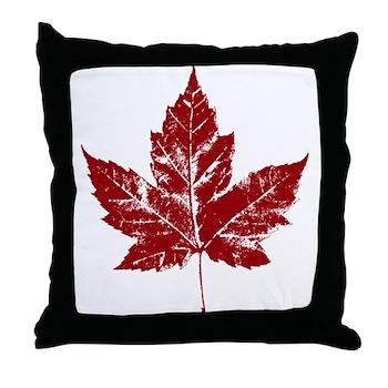 Cool Canada Throw Pillow