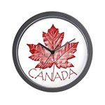 Cool Canada Wall Clock