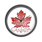 Cool Canada Wall Clock
