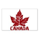Cool Canada Sticker (Rectangle 10 pk)