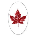 Cool Canada Sticker (Oval 10 pk)