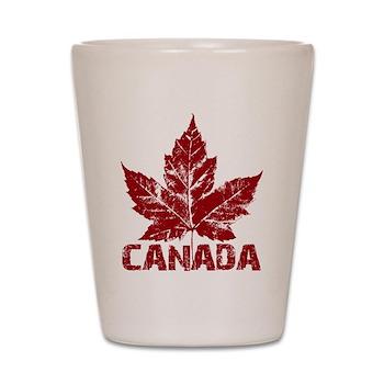 Cool Canada Shot Glass