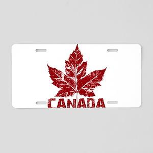 Cool Canada Aluminum License Plate