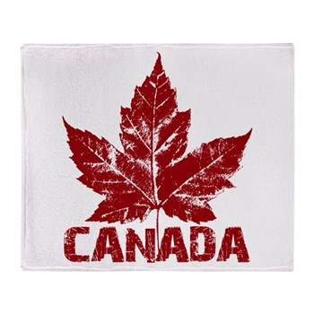 Cool Canada Throw Blanket