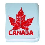 Cool Canada baby blanket