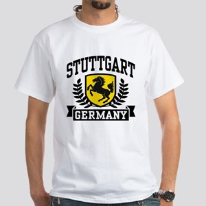 Stuttgart Germany White T-Shirt
