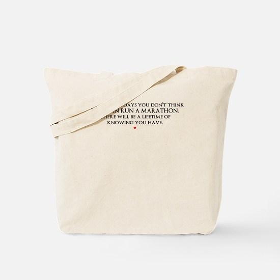 Marathon Tote Bag