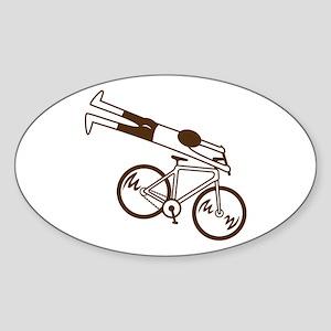 Ride Fast! Sticker (Oval)