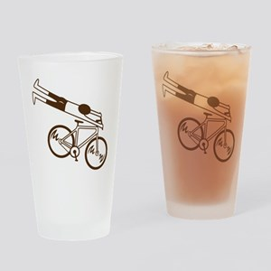 Ride Fast! Drinking Glass