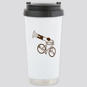 Ride Fast! Stainless Steel Travel Mug