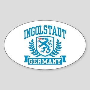 Ingolstadt Germany Sticker (Oval)