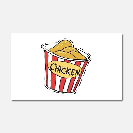 Bucket of Chicken Car Magnet 20 x 12