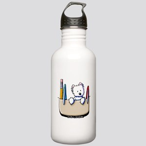 Pkt Protector Westie Stainless Water Bottle 1.0L