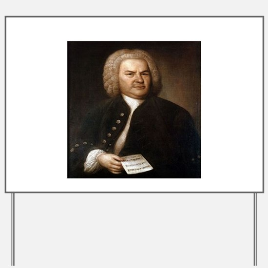 bach quotes Yard Sign