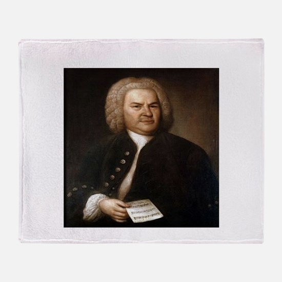 bach quotes Throw Blanket