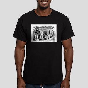 Kemet - Great Temple Men's Fitted T-Shirt (dark)