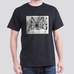 Kemet - Great Temple Hall Dark T-Shirt
