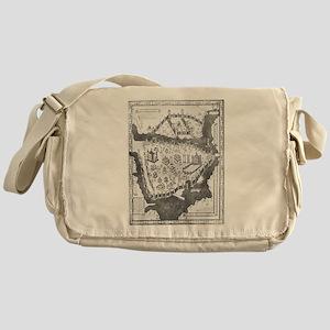 Constantinople Map Messenger Bag