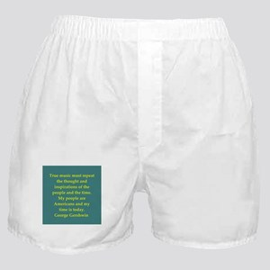 George Gershwin quotes Boxer Shorts