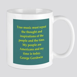 George Gershwin quotes Mug