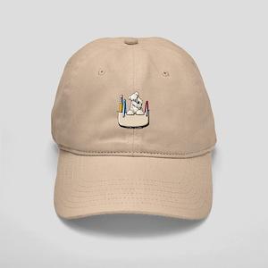 Wheaten Pocket Protector Cap