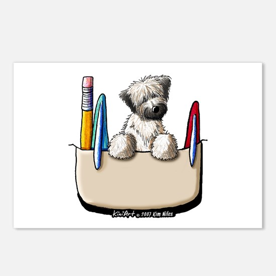 Wheaten Pkt Protector II Postcards (Package of 8)