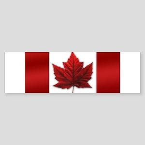 Canada Flag Sticker (Bumper)