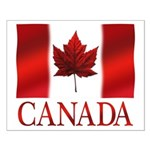 Canada Flag Small Poster