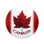 "Canada Flag 3.5"" Button Big Canada Buttons"
