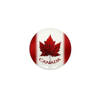 Canada Flag Mini Button Canada Souvenir Buttons