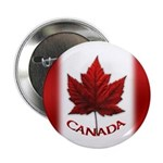 "Canada Flag Buttons 2.25"" Button (10 Pack)"
