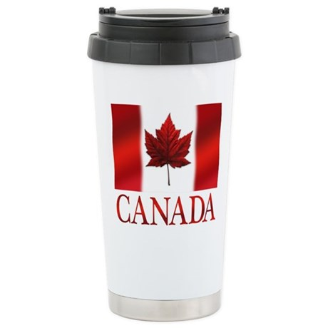 Canada Flag Stainless Steel Travel Mug