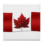 Canada Flag Tile Coaster