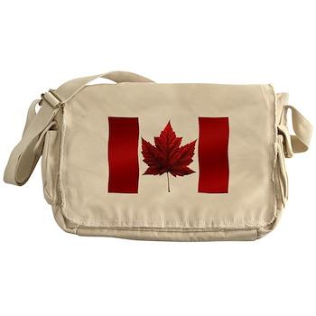 Canada Flag Messenger Bag