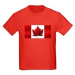 Canada Flag Kids T-Shirt Canada Souvenir Shirt