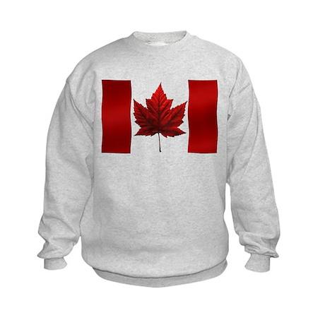 Canada Flag Kids Sweatshirt Canada Souvenir Shirt