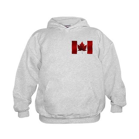 Canada Flag Kids Hoodie Canada Souvenir Shirt
