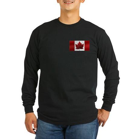 Canada Flag Long Sleeve Shirt Canada Souvenir