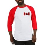 Canada Flag Baseball Jersey Men's Canada Shirt