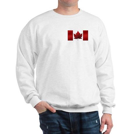 Canada Flag Hooded Sweatshirt Canada Souvenir Tops