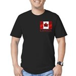 Canada Flag Men's Fitted T-Shirt Canada Souvenirs