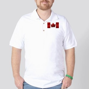 Canada Flag Golf Shirt Canada Souvenir Shirts