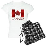 Canada Flag Women's Light Pajamas