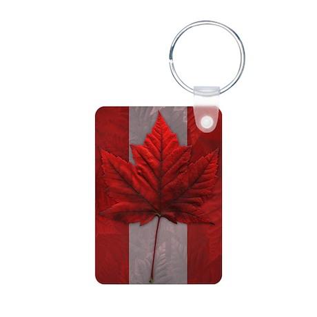 Canada Flag Keychain Maple Leaf Souvenir Keychains