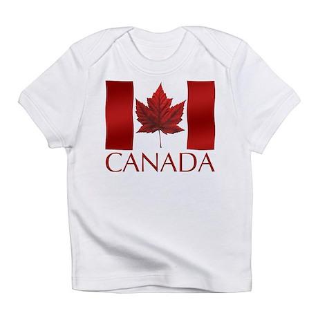 Canada Flag Souvenir Toddler Baby T Infant T-Shirt
