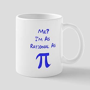 Rational As Pi Mug