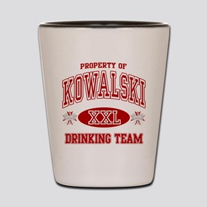 Kowalski Polish Drinking Team Shot Glass