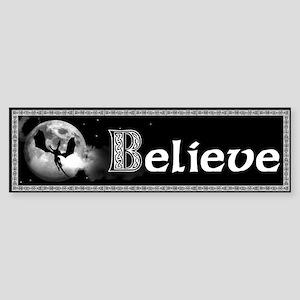 Beleive Sticker (Bumper)